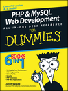 PHP & MySQL Web Development All-in-One Desk Reference For Dummies (eBook)